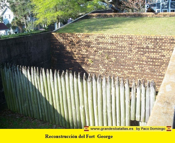 RECONSTRUCCION DE FORT GEORGE